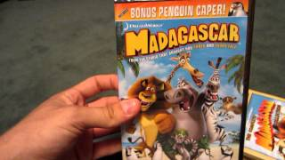 Madagascar Movie Collection Unboxing