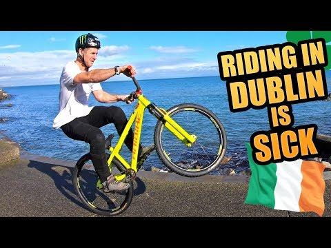 RIDING IN DUBLIN IS SICK - URBAN MTB FREERIDE