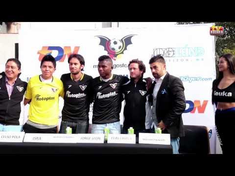 Presentación del 'Werevertumorro' con el Murciélagos FC