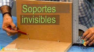 Colocar soportes invisibles