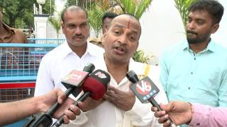 Comedian Venu Madhav Meets Governor