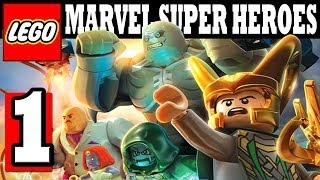 LEGO MARVEL Super Heroes Walkthrough Part 1 Gameplay Lets