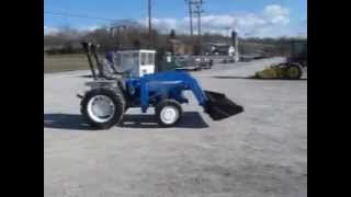 Ford 1710 4x4 Tractor With Loader