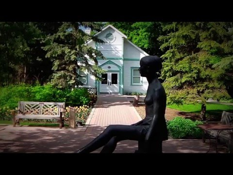 Winnipeg's English Garden & Leo Mol Sculpture Garden #2. Video Serial 2013 June.