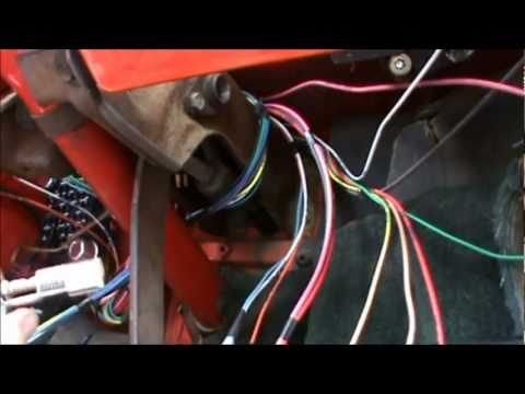 chrysler trailer wiring color code how to install a    wiring    harness in a 1967 to 1972 chevy  how to install a    wiring    harness in a 1967 to 1972 chevy