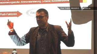 Prof. Dr. Niko Paech MGS 2012