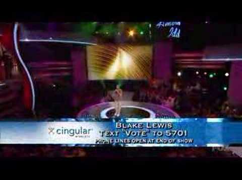 Blake Lewis American Idol - 311 All Mixed Up