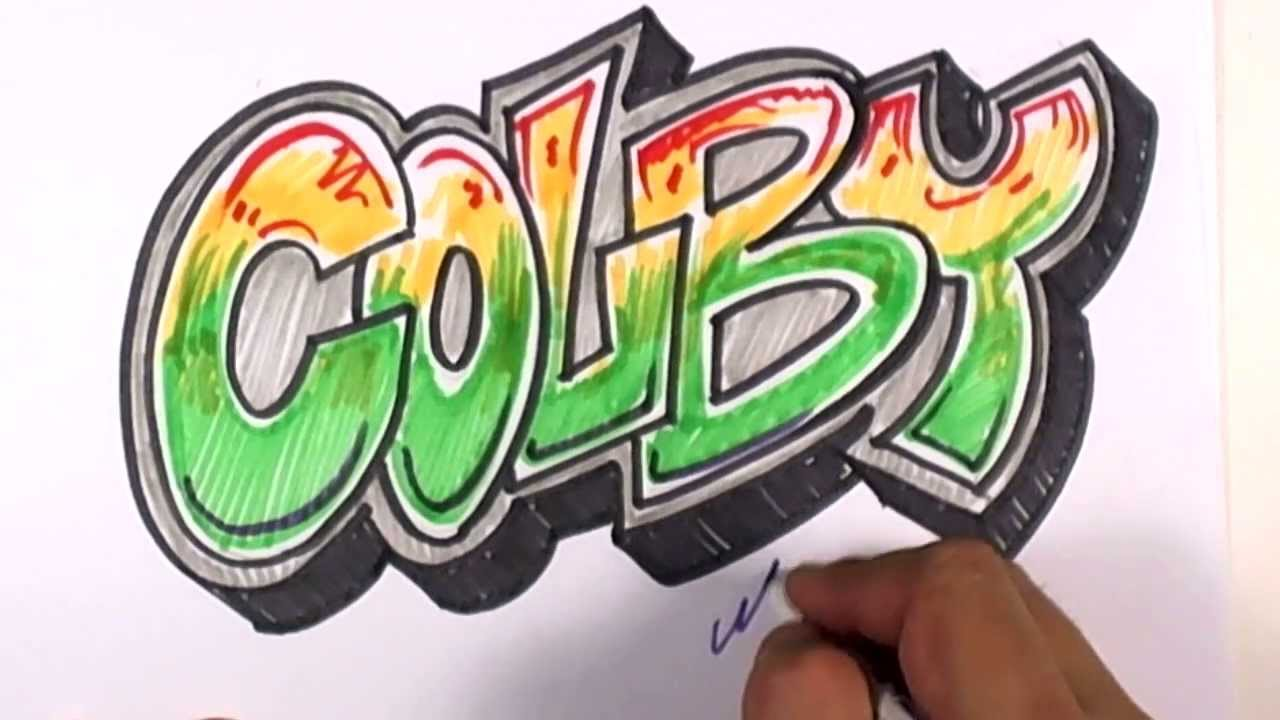 Graffiti Writing Colby Name Design 18 In 50 Names