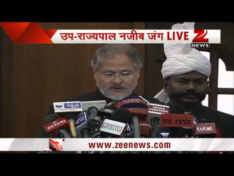 Power companies to undergo CAG audit: Delhi LG Najeeb Jung
