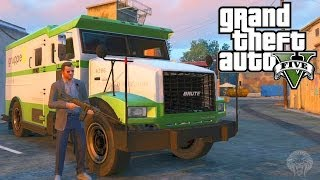 GTA 5: How To Make Huge Amounts Of Money Robbing Security