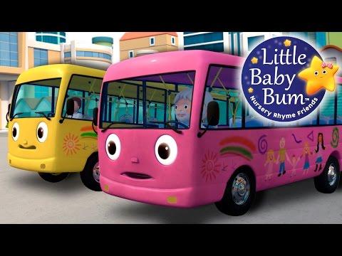 Wheels On The Bus | Part 8 | Nursery Rhymes | by LittleBabyBum!