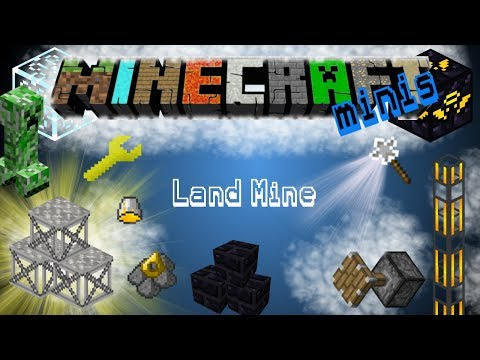 Minecraft Minis | Rotary Craft Mod | Land Mine