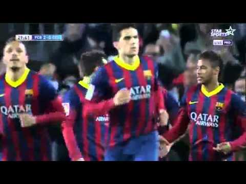 FC Barcelona vs Celta Vigo 3-0 (La Liga) All Goals - 16/03/2014