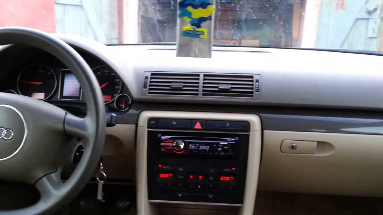 Audi a4 b6 1 9 tdi 131 km part 1 youtube for Mueble 2 din audi a4 b6