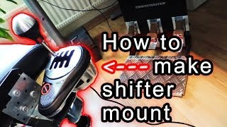 How To Make Homemade Gear Shifter Chair Mount (for G27