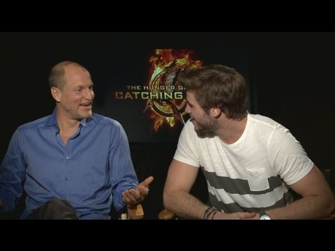 CATCHING FIRE Interviews - Jennifer Lawrence, Josh Hutcherson, Liam Hemsworth, Sam Clafin, more