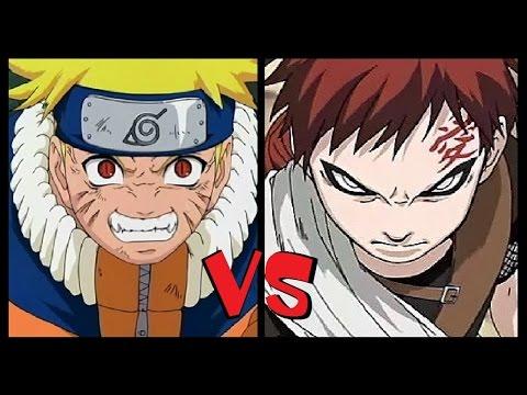Naruto Shippuden NARUTO vs GAARA
