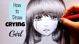 Manga Tutorial How To Draw Crying Girl / Come Disegnare