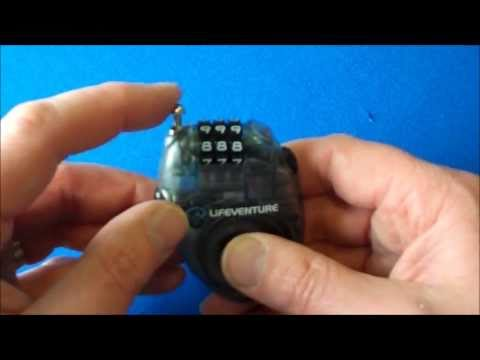Lifeventure Mini Cable Lock C300M (9750)