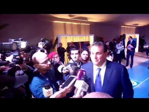 """فيديو """" أخنوش من أكادير يتحدث عن معرض أليوتيس ولقائه الأخير مع بنكيران في شأن تشكيل الحكومة"""