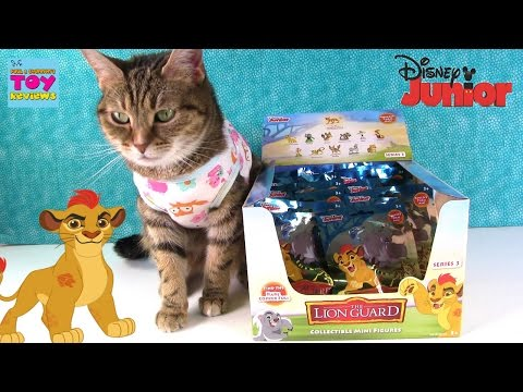 Lion Guard Series 4 Blind Bags Disney Junior Toy Opening | PSToyReviews