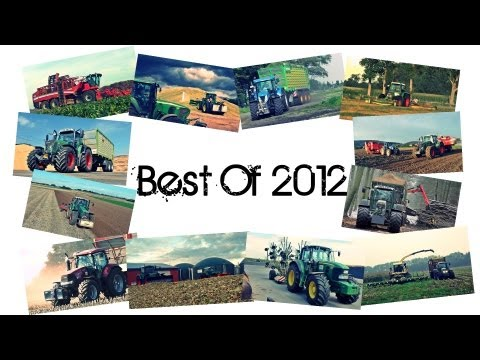 Best Of 2012 - Fendt, John Deere, Deutz, Case, Claas, Grimme usw. (GoPro + Motorsound Best Of) [HD]