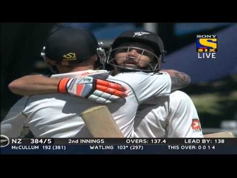 New Zealand 2nd Innings | Boundries | India vs New Zealand | Day 4 | 2nd Test | 2014