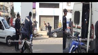 فيديو على المباشر..شوفو شحال من واحد اعتاقلوه خلال فوضى دونور |
