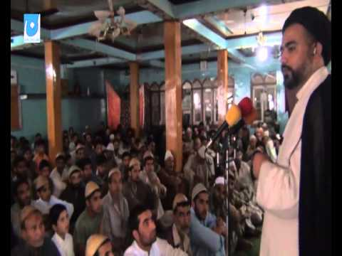 Aga Syed Abdul Hussain Kashmiri Speaking at Jamia Masjid Chewdara (Beerwah) Kashmir on part2