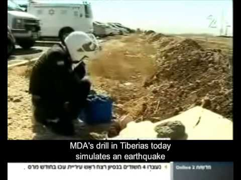 MDA held an earthquake drill force 6.7 on the Richter scale News Channel 2