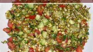 Sprouted Moong Salad..