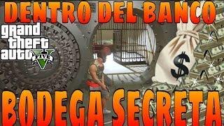 GTA 5 ON LINE BODEGA SECRETA DENTRO DEL BANCO EASTER