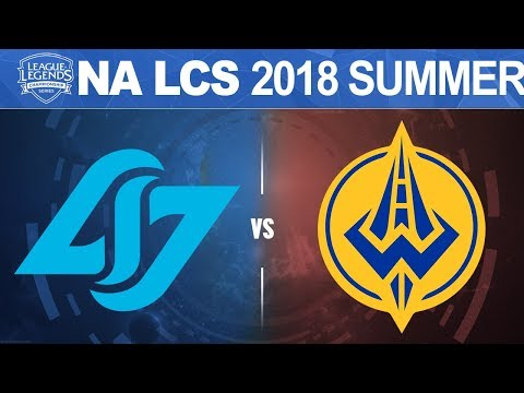 CLG vs GGS - NA LCS 2018 Summer Split W9D2 - Counter Logic Gaming vs Golden Guardians