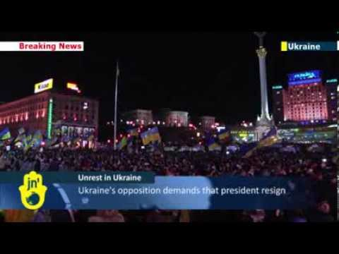 Kiev pro-EU protests continue: Ukrainians furious over EU integration U-turn and police brutality