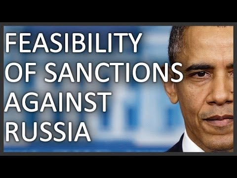 Feasibility of sanctions against Russia