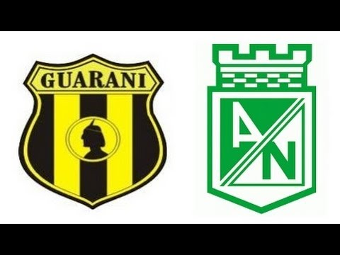 Guaraní 0 - 2 Atlético Nacional Copa Sudamericana 2013