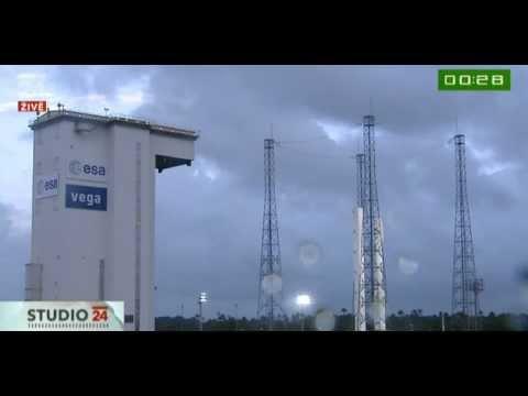 Start rakiety Vega 13.02.2012