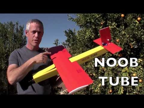 NOOB TUBE Foamboard Fun Flyer