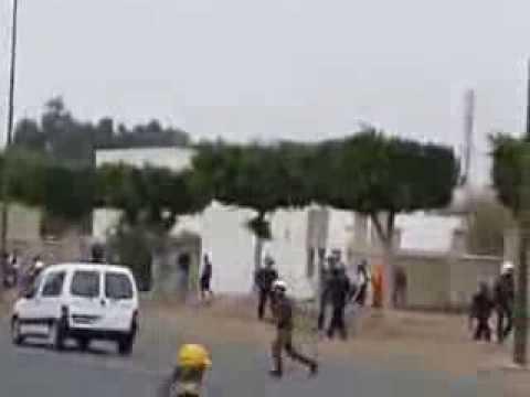 بالفيديو: مواجهات بايت ملول بين عمال صوتيماك ورجال الأمن