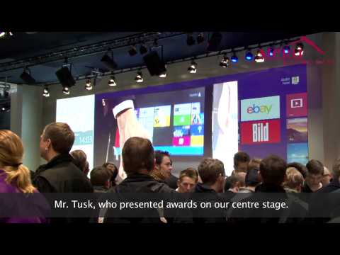 Meru WLAN Gets Microsoft Networked at CeBit - The Worlds Largest Trade Show