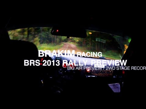 BRAKIM Racing BRS Black River Stages Rally 2013 NASA Preview