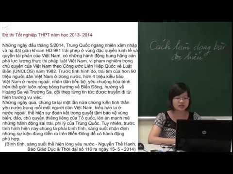 Cách làm dạng bài đọc hiểu - Tiết 1 - Cô Phạm Thị Thu Phương