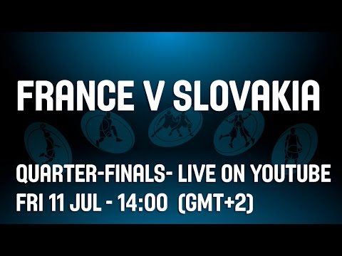 France v Slovakia -- Quarter-Finals-- 2014 U20 European Championship Women