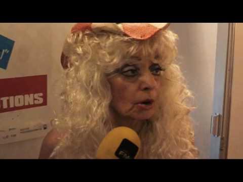 Sandy Kane The Naked Cowgirl at Ottos Shrunken Head