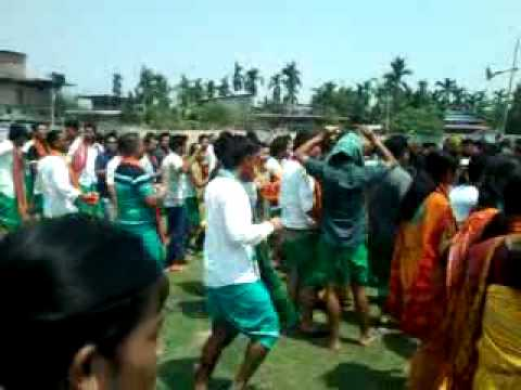 bwisagu dance organise by kokrajhar district abbsu