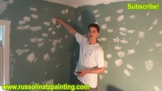 DIY Patch And Sanding Small Holes & ImperfectionsDrywall