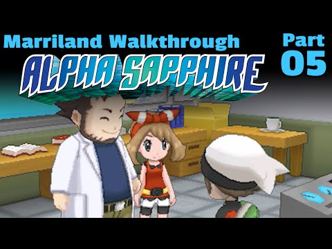 Pokémon Alpha Sapphire, Part 05: Return to Littleroot Town and Route 101!
