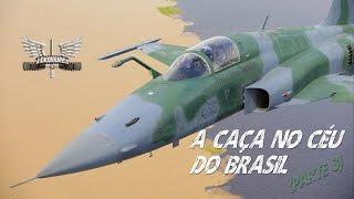 O vídeo ¨A caça no céu do Brasil (Parte 3)¨ exibe imagens vibrantes com os caças F-5M Tiger, A-1M AMX e A-29 Super Tucano utilizados pela Força Aérea Brasileira (FAB) .Uma produção da Terceira Força Aérea  (III FAE) com apoio do CECOMSAER.