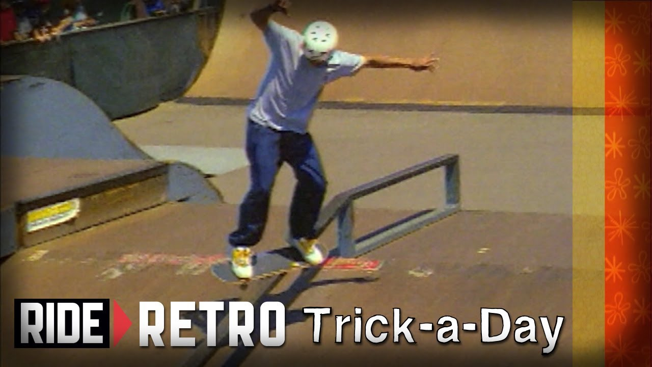 How-To Skateboarding: Backside Feeble Grind with Tony Hawk ...