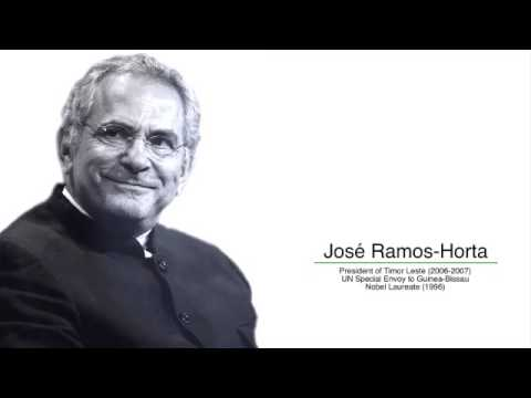 AU High-Level Peace Retreat 2013 (1): Jose Ramos-Horta